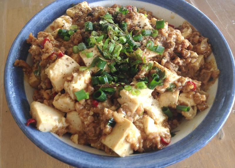 ソイミート麻婆豆腐レシピ