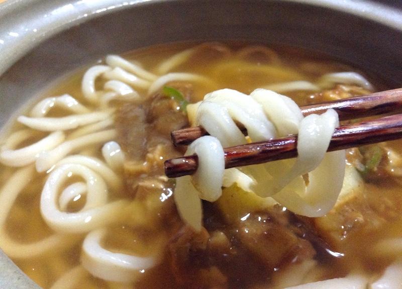 自作ソフト麺&カレー