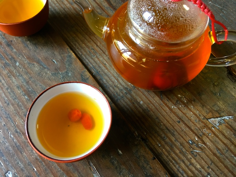 美肌になれる漢方茶