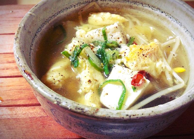 韓国スープ(プゴク)レシピ