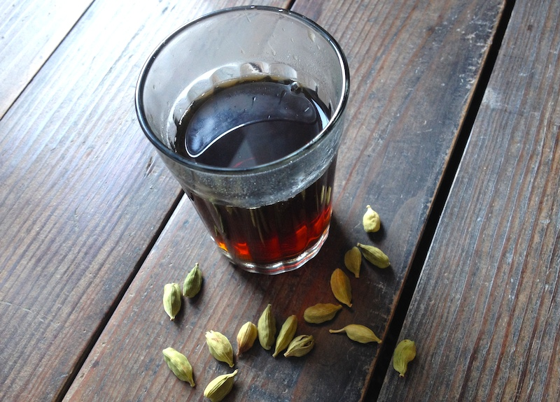 中近東で飲まれているカルダモンコーヒー【ガーワ】の作り方