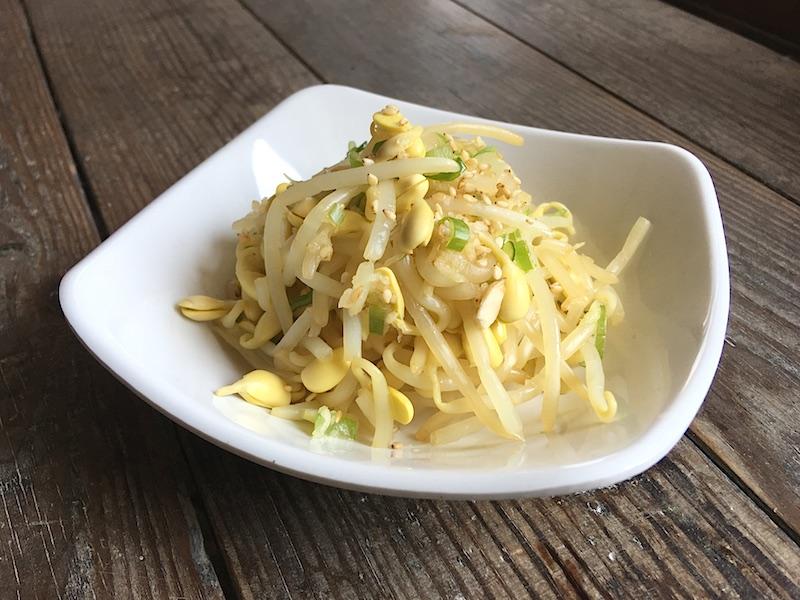 豆もやしナムル(コンナムルムチム)2種類のレシピ