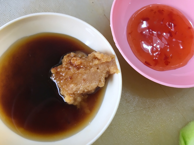 チキンライスのタレ