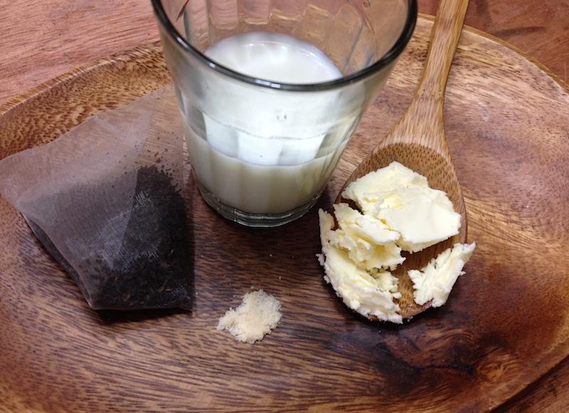 バター茶の材料