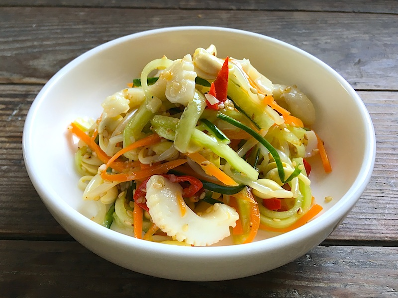 韓国風イカと豆もやしのからし和え(コンナムルキョジャチェ)レシピ