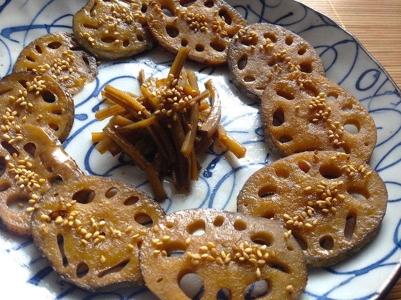ゴボウとレンコンのチョリム【韓国の煮物】レシピ