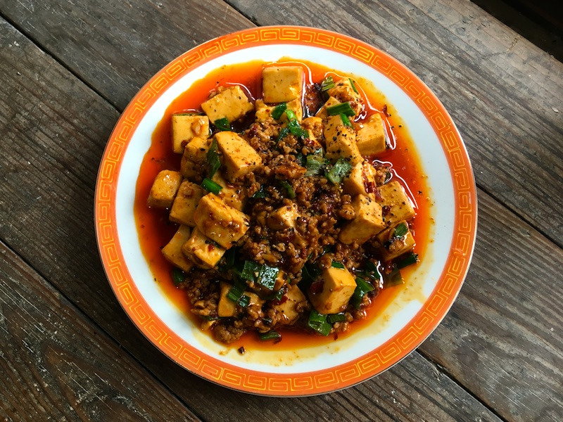 四川麻婆豆腐レシピ