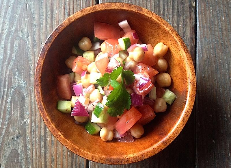 ひよこ豆のサラダのレシピ