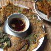 【韓国料理レシピ】エゴマの葉と唐辛子の豆腐入りジョン(チヂミ/전)