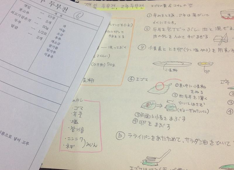 韓国料理の本格レシピ