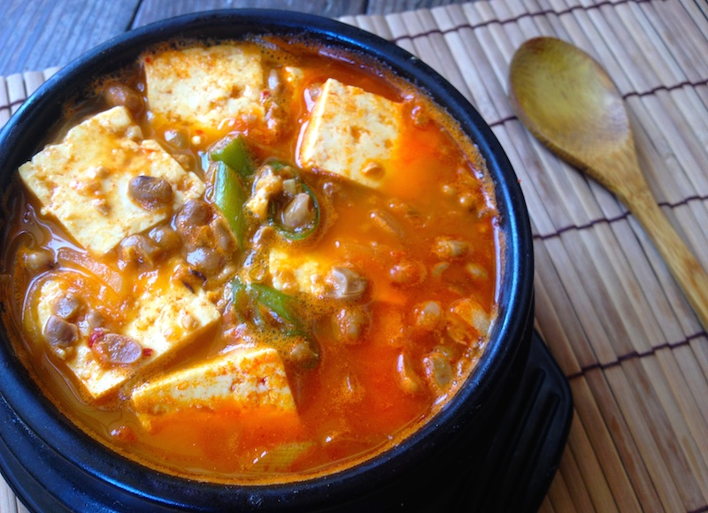 チョングッチャンチゲ(納豆鍋)レシピ