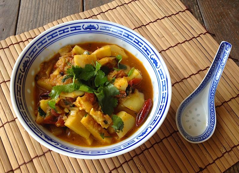 ネパール風タケノコとジャガイモのカレー【アルータマ】レシピ