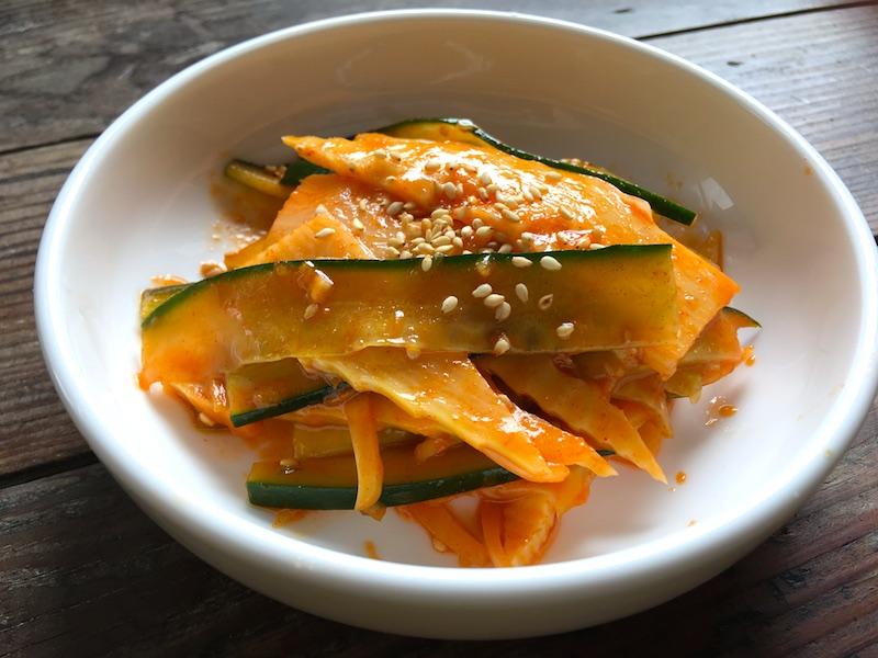 韓国風タケノコの酢の物(チュクスンチョムチム)レシピ