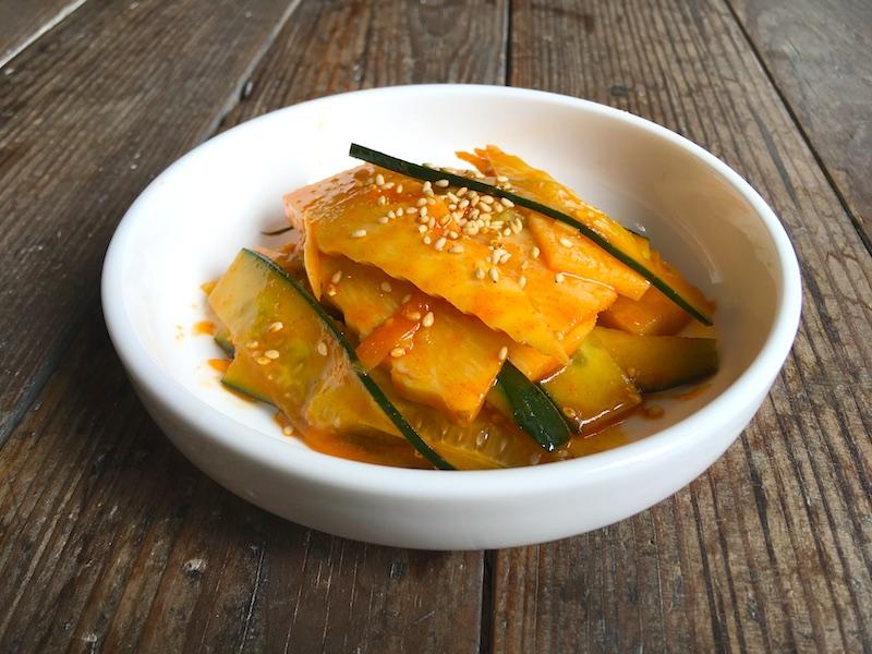 韓国風たけのこ和え物レシピ