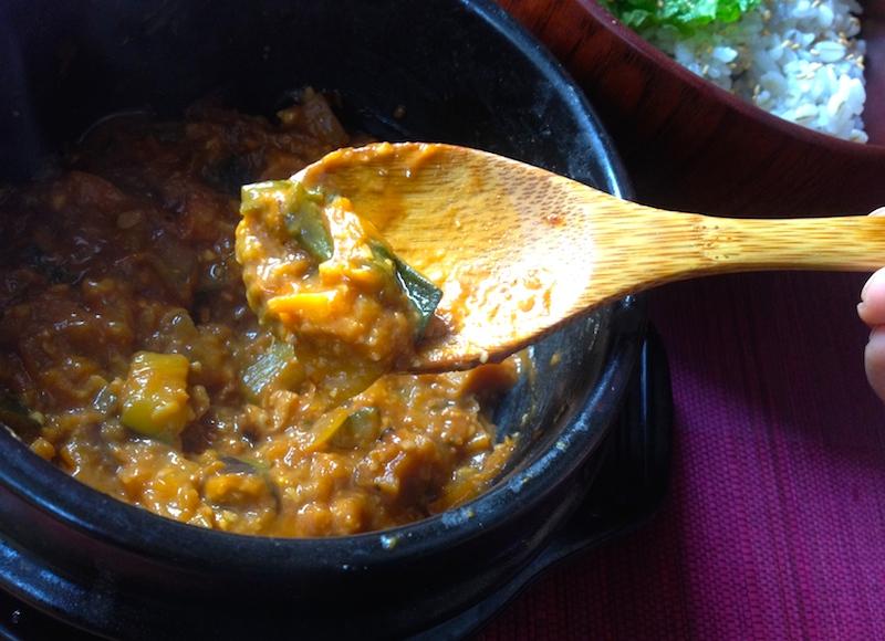 カンテンジャンと麦飯ビビンバのレシピ