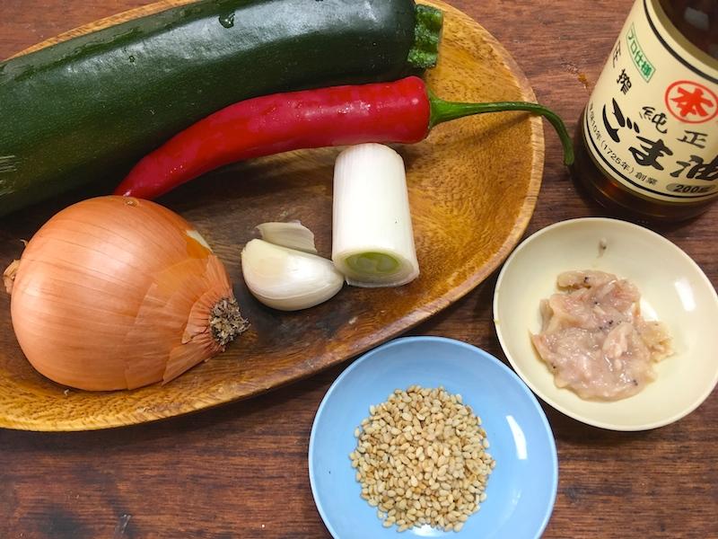 ホバクナムルのレシピ