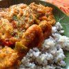 【インドカレーのレシピ】殻付き小エビのスパイシーカレー