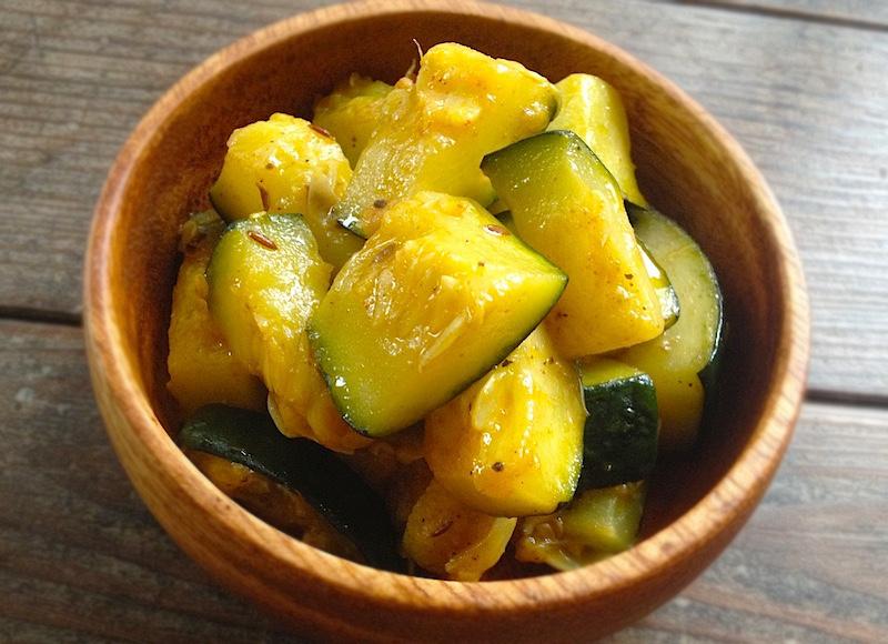 zucchini-sabji