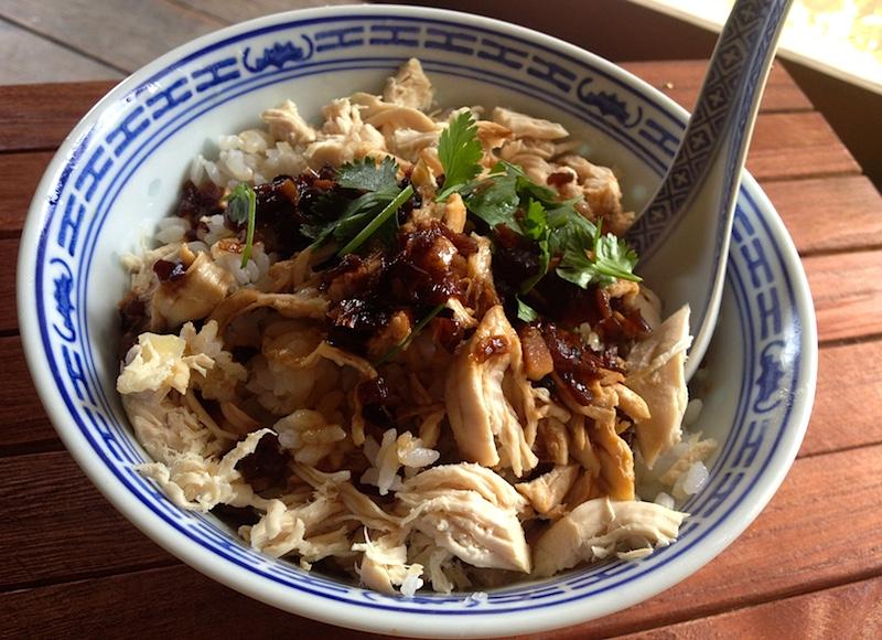台湾の屋台めし【鶏肉飯】ジーローファンのレシピ