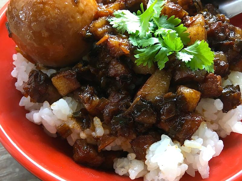 ルーローファン(魯肉飯)レシピ