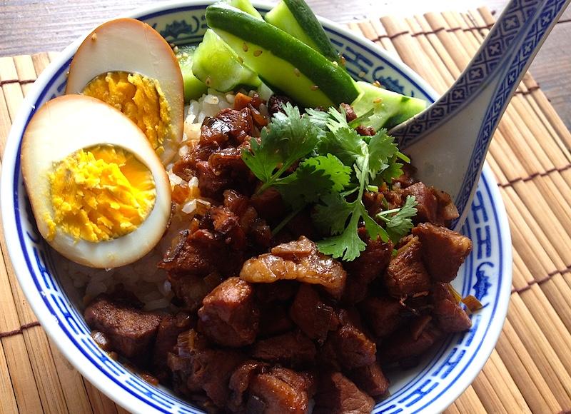 魯肉飯のレシピ