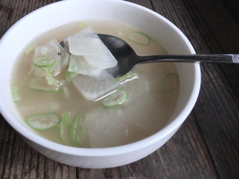 韓国の大根スープ