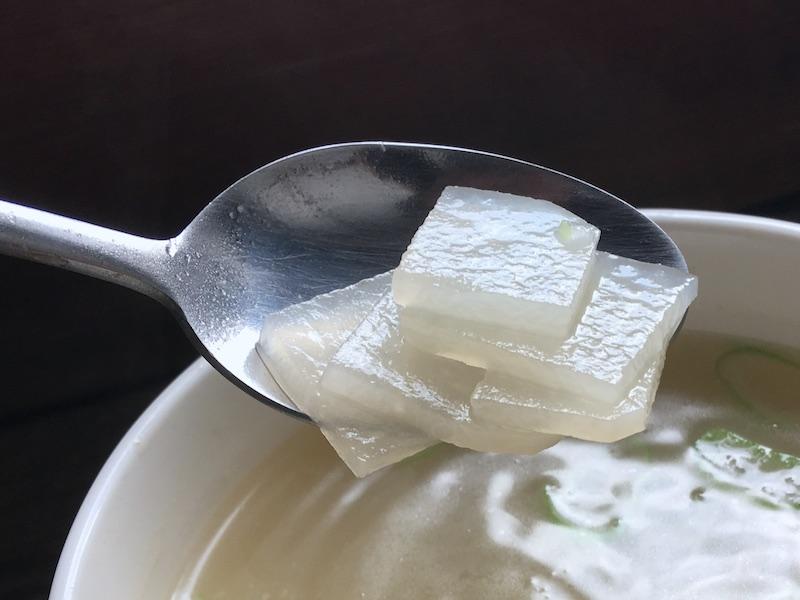 大根スープのレシピ