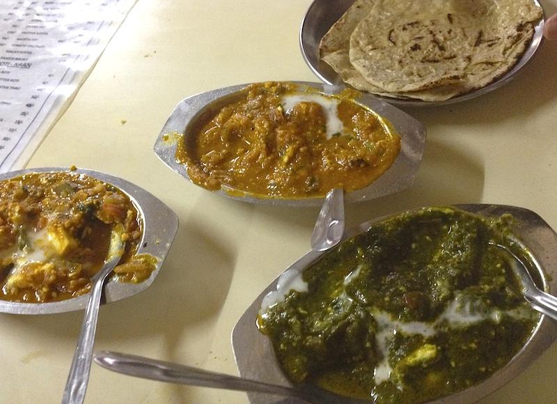 インドのベジタリアン食堂