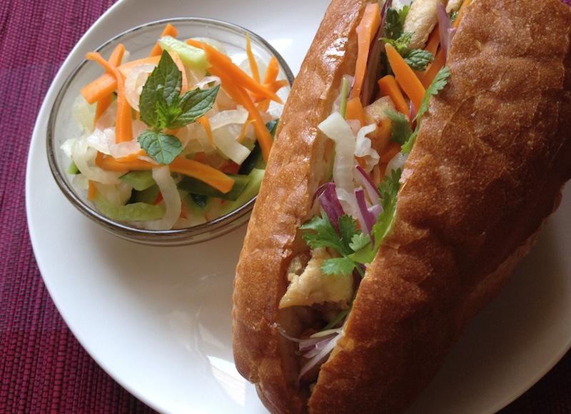 バインミー(ベトナム風サンドイッチ)のレシピ