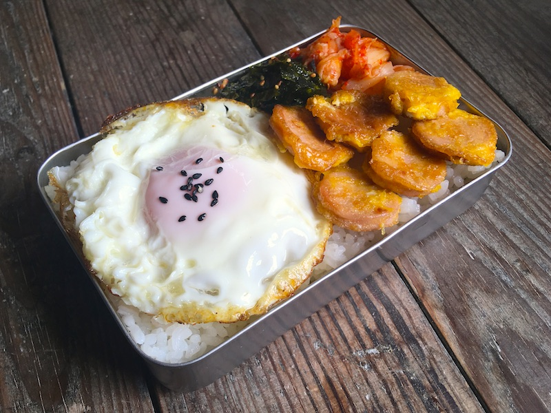 トシラク(懐かしの韓国弁当)レシピ