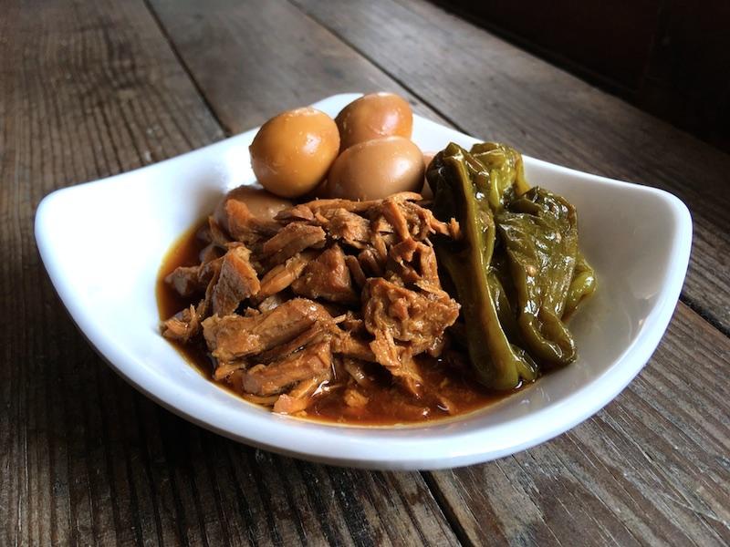 韓国風豚肉の醤油煮込み