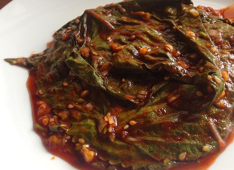 えごまの葉キムチ【ケンニプキムチ】レシピ