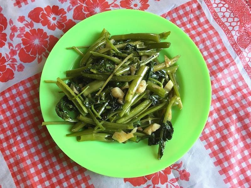 ベトナム式!空芯菜炒め(ラオムンサオトイ)レシピ