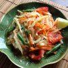 【タイ料理レシピ】ビニール袋で作るソムタム風スパイシー白瓜サラダ