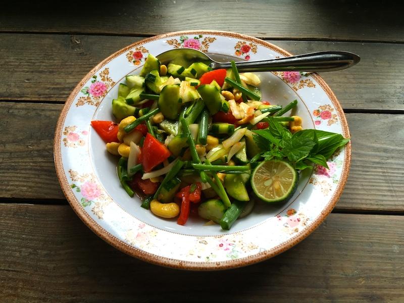 タイ風サラダのレシピ