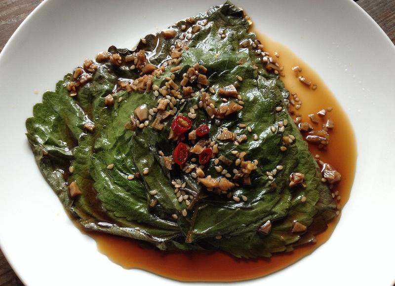 えごまの葉の醤油漬け【ケンニプチャンアチ】レシピ