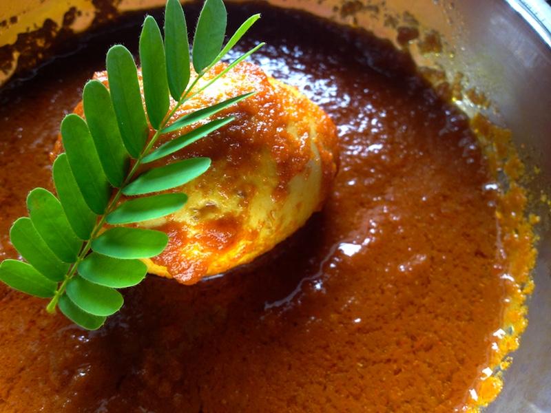 ミャンマー風卵カレー
