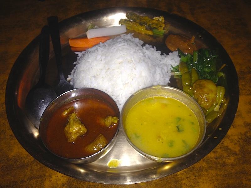 ネパールのダルバート