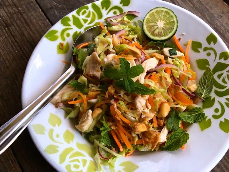 ベトナム風チキンサラダ