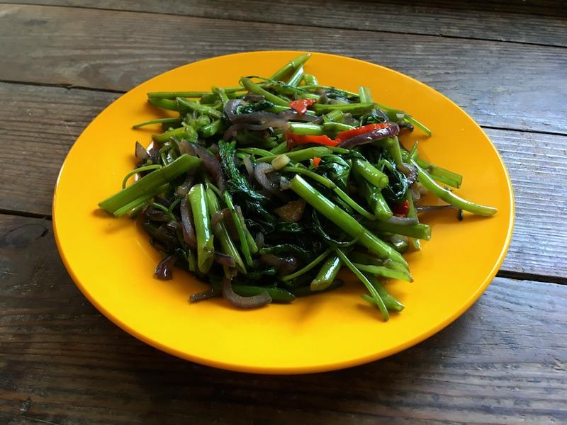 マレーシア式空芯菜炒めレシピ