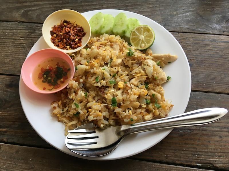 カオパット(タイ風チャーハン)レシピ