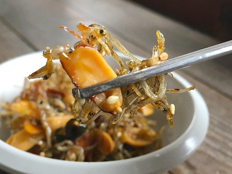 小魚とナッツ炒めのレシピ