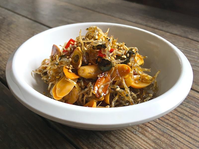 ミョルチポックム(小魚の佃煮)レシピ