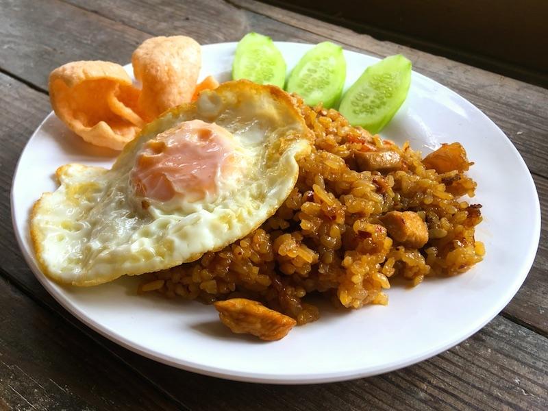 インドネシア式ナシゴレンのレシピ