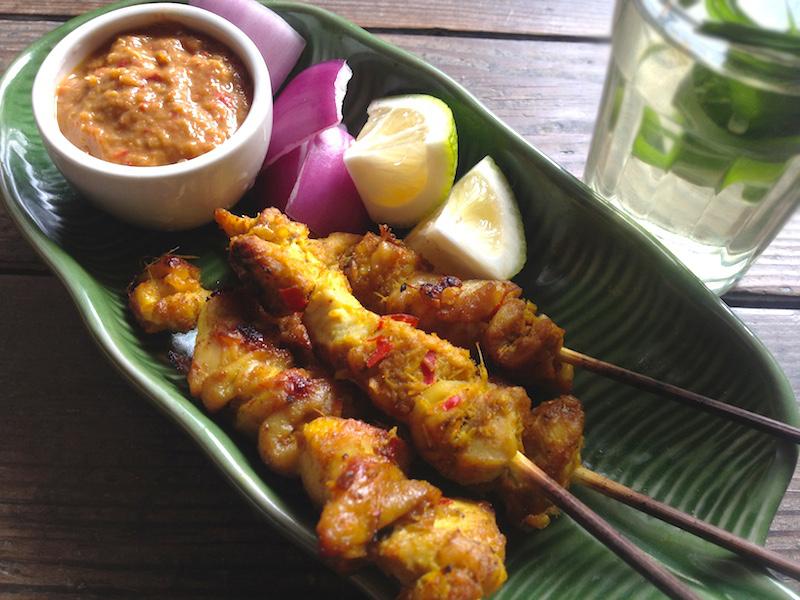 【インドネシア風焼き鳥】サテ&ピーナッツソースのレシピ