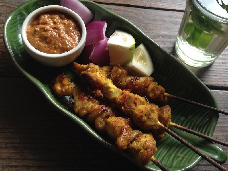 インドネシア風焼き鳥レシピ