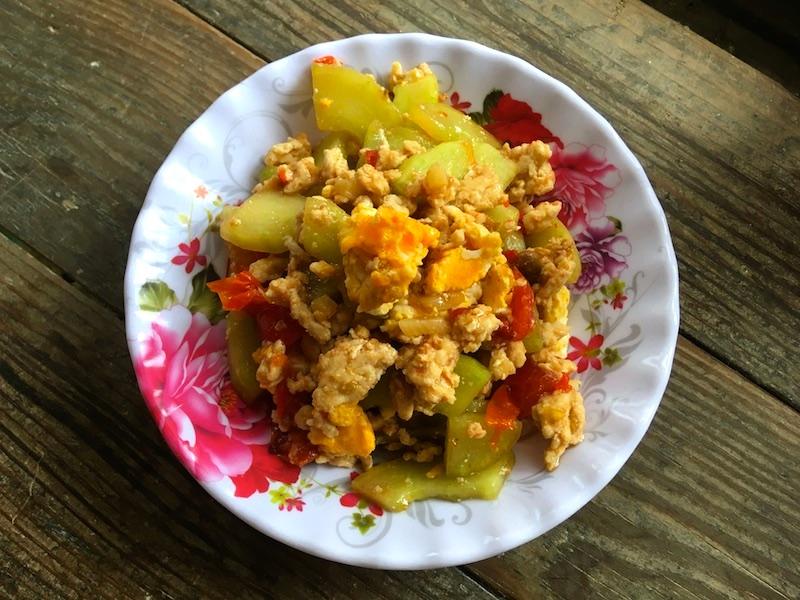 タイ風ウリ炒めのレシピ