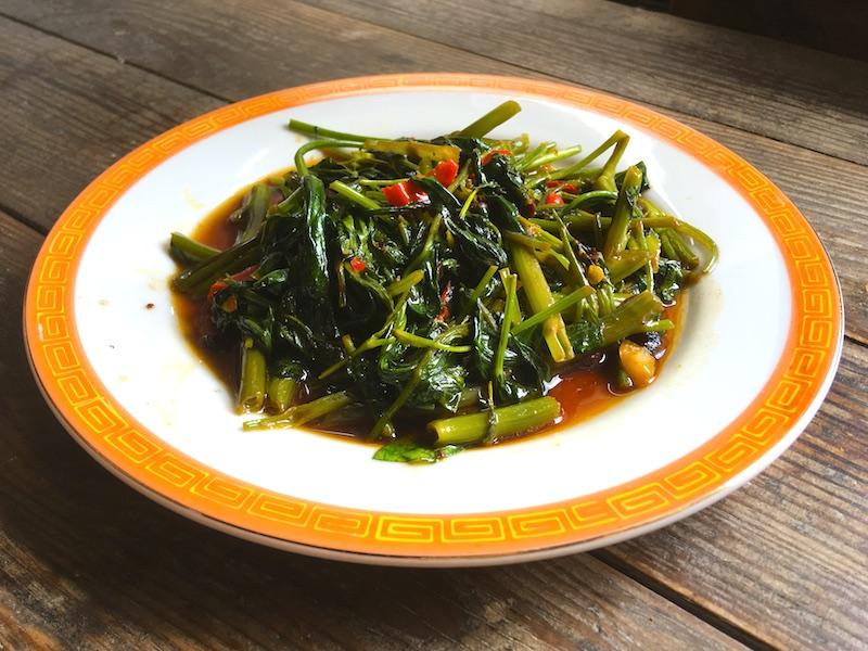 空芯菜の中華炒めレシピ