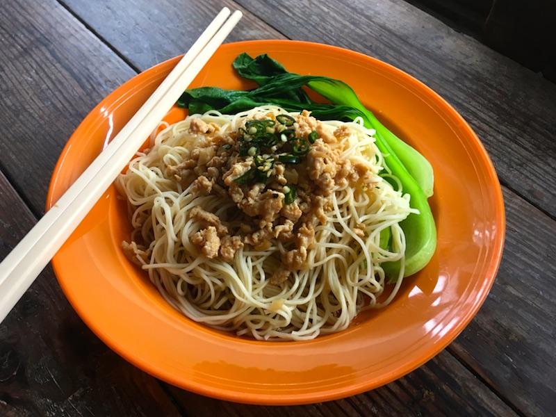 ハッカミー(客家麺)のレシピ