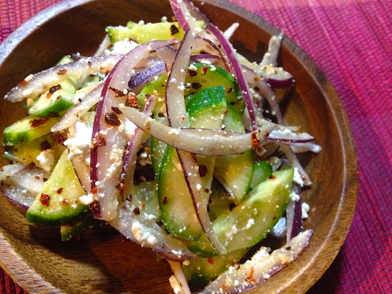 ブータン風サラダ「ホゲ」